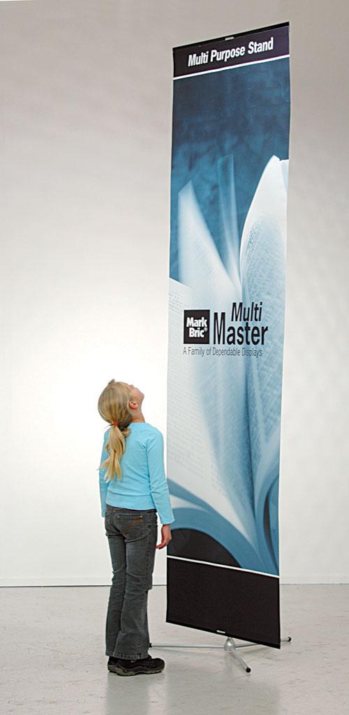 3 meter høy banner