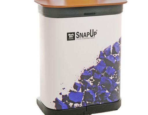 Messeveggen fraktes i kasse som brukes som disk