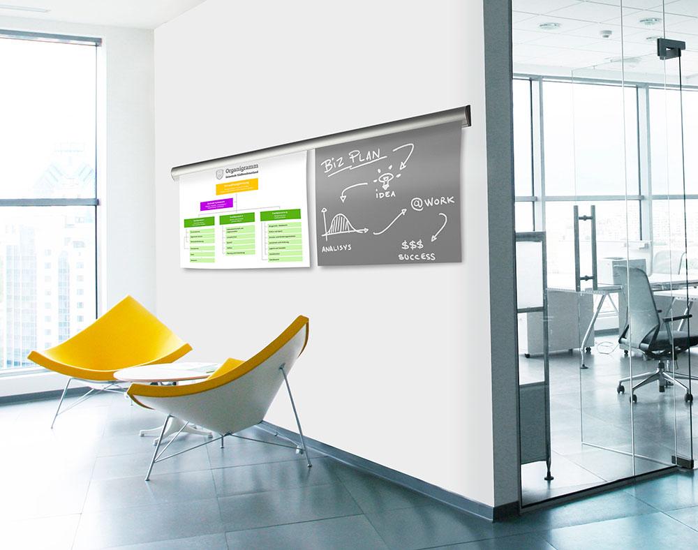 Plakat på vegg