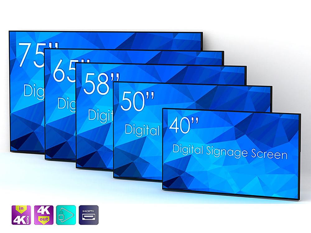 Digitale skjermer UHD