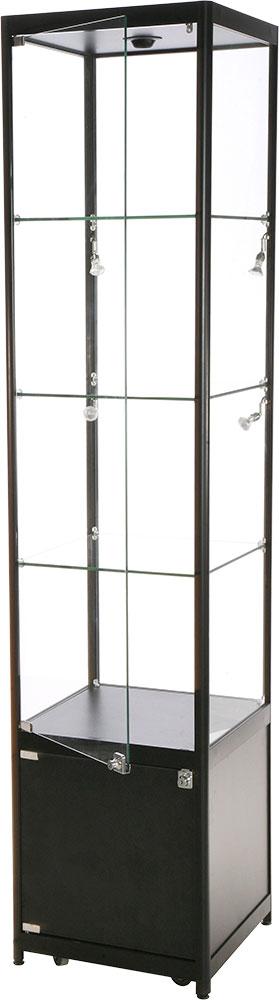 Glasskap enkel bredde