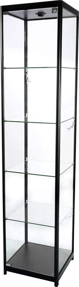 Glassmonter med lås