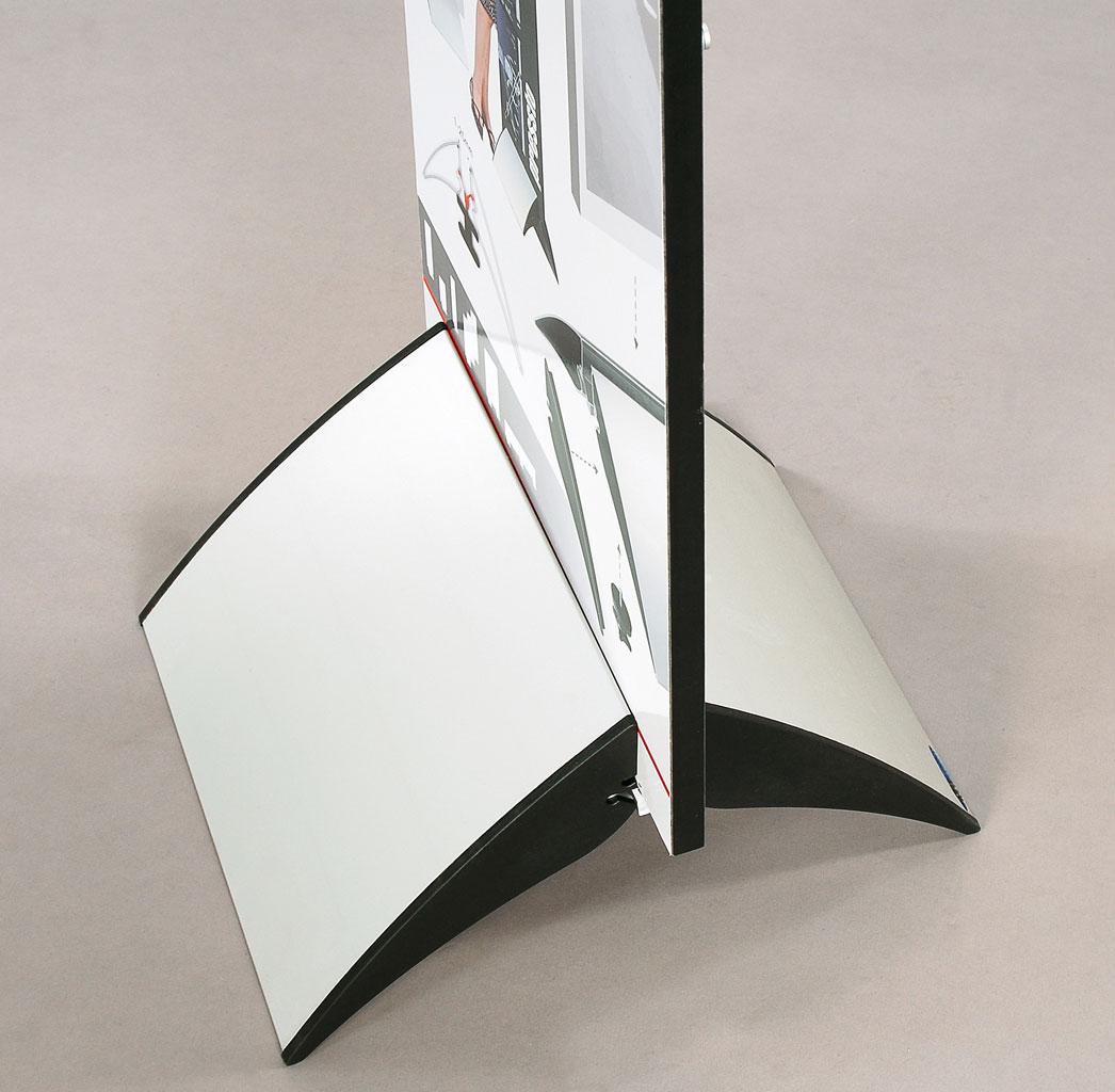 Skiltholder i aluminium