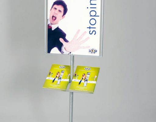 Smart plakatstativ